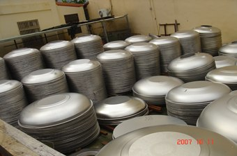 Stainless Steel Water Tank Covers, Lids, Caps